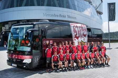 Teambus VFB Stuttgart