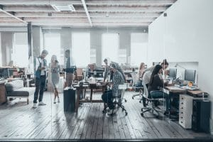 Coworking Büro